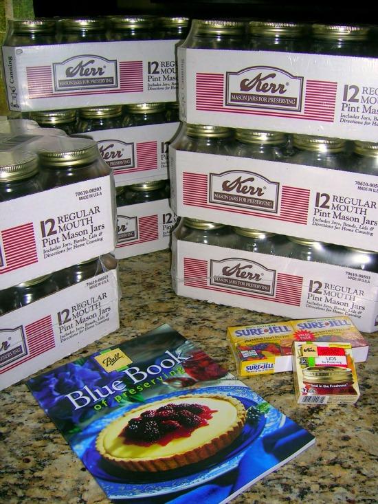 Stocking Up for Canning Season