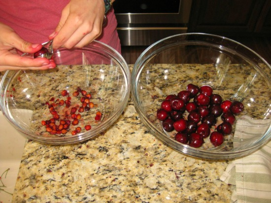 Canning Sweet Cherries