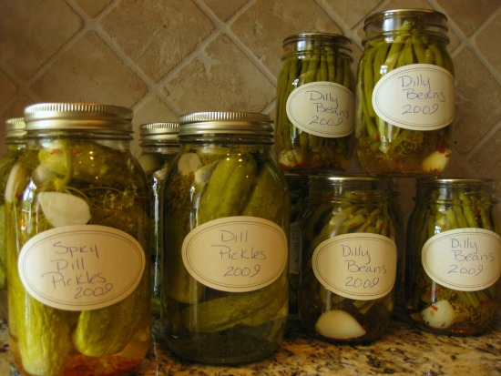 How to Make Dilly Beans and Dill Pickles