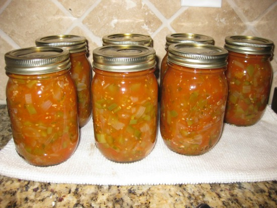Canned Salsa Overload