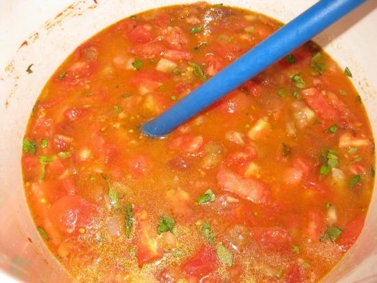 how to make tomato basil soup