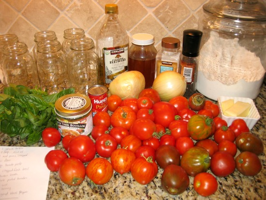 How To Can Tomato Basil Soup