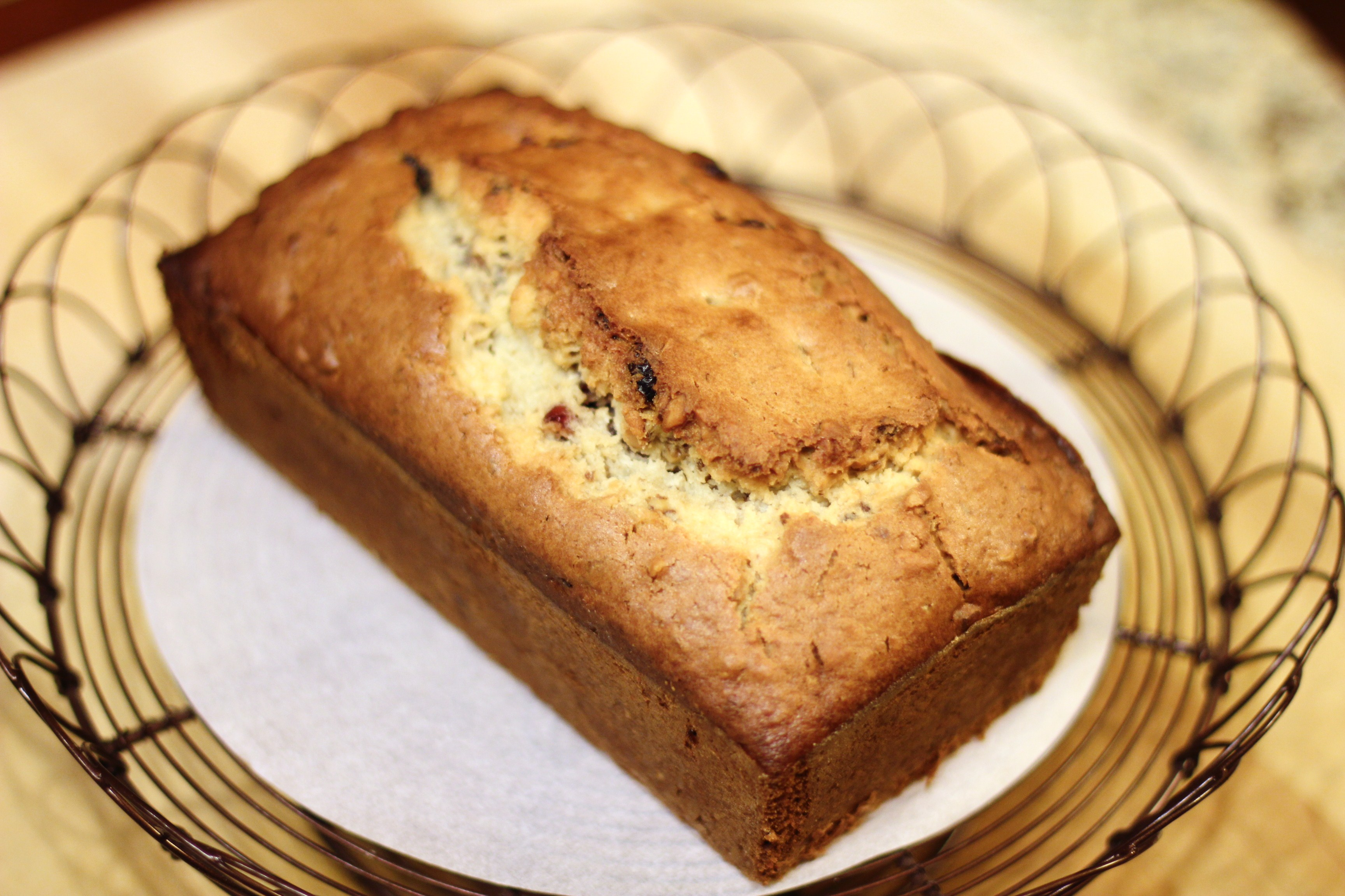 Recipe: Cranberry Walnut Bread