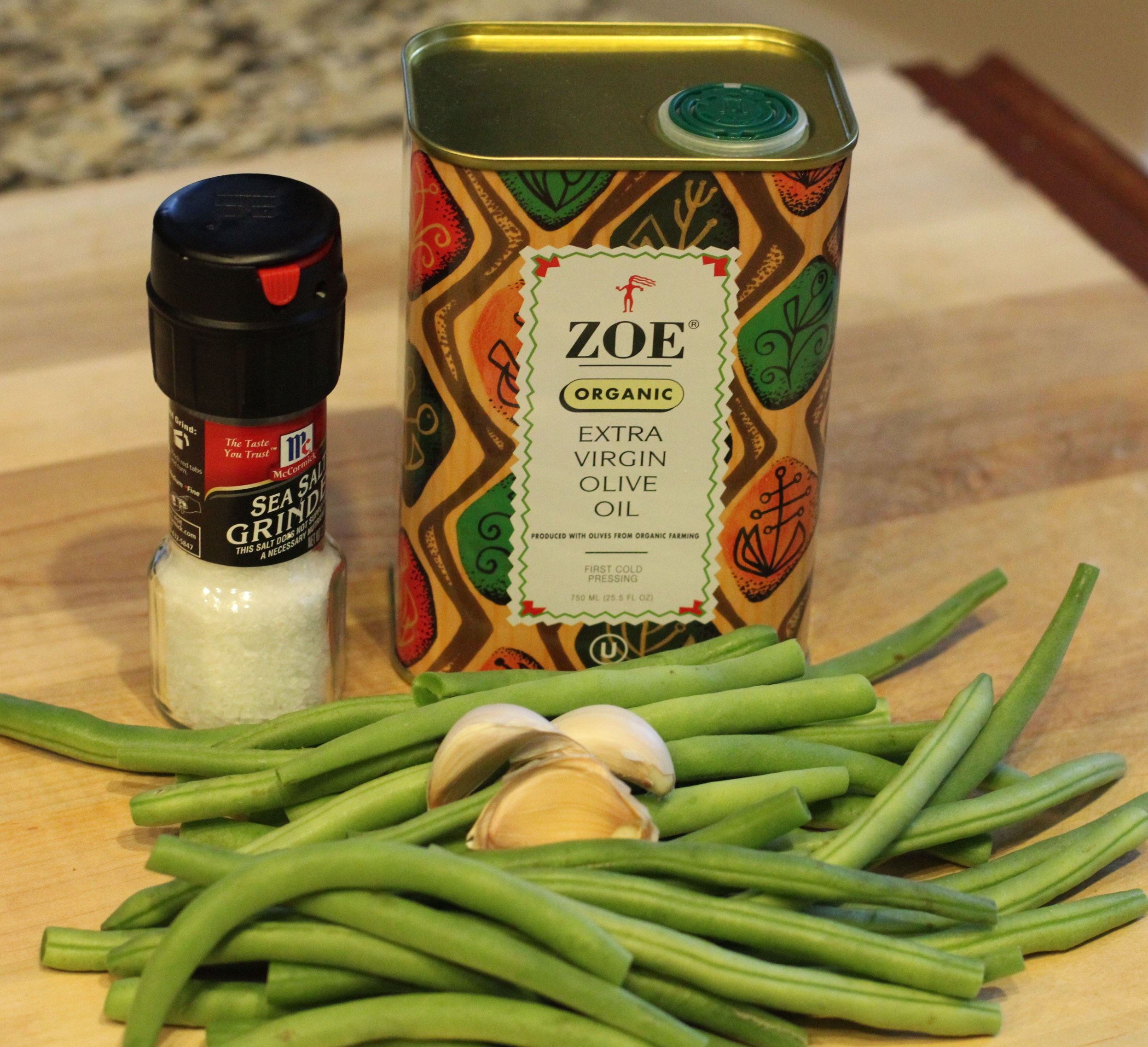 Recipe: Sauteed Beans with Garlic