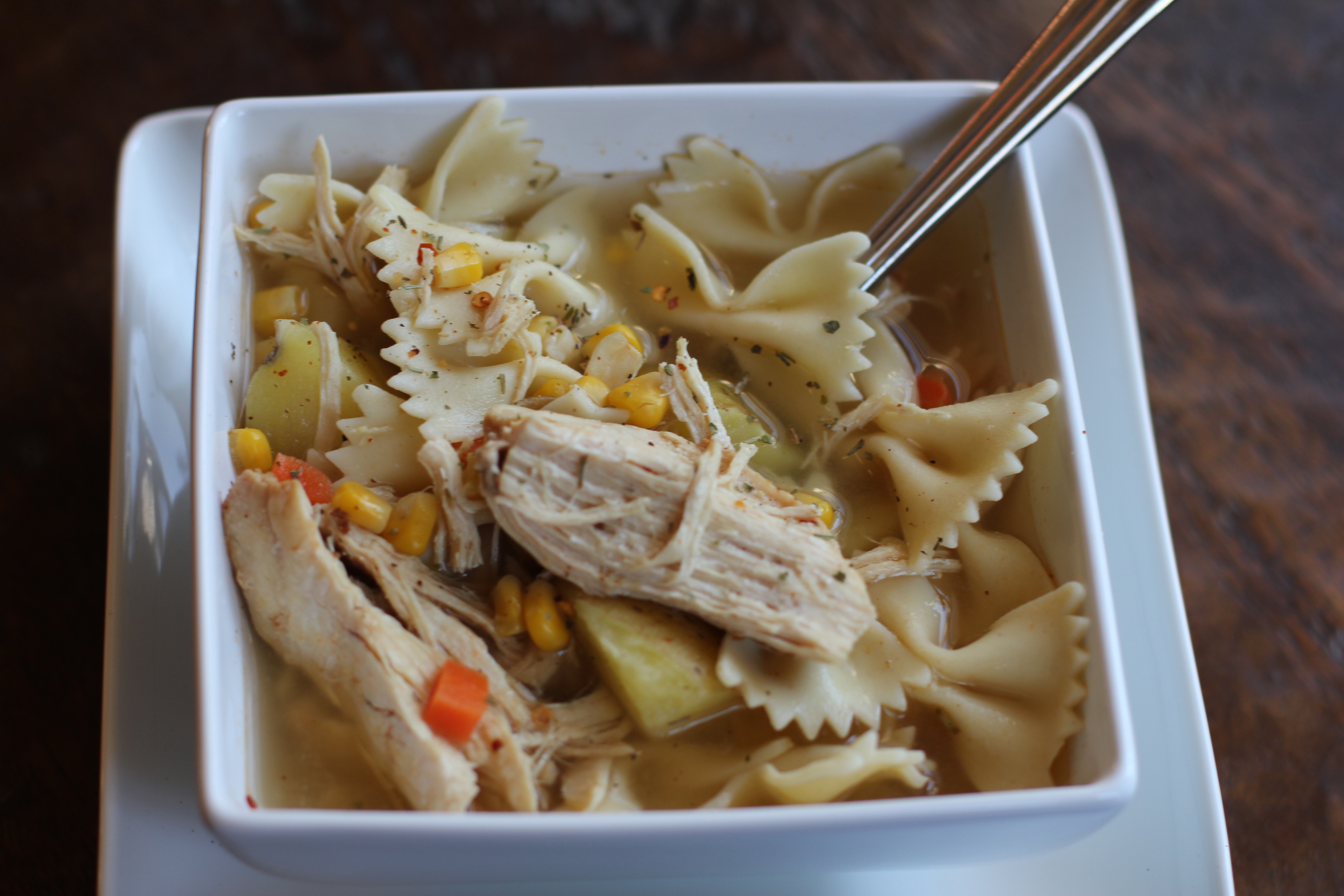 Recipe: Homemade Chicken Soup