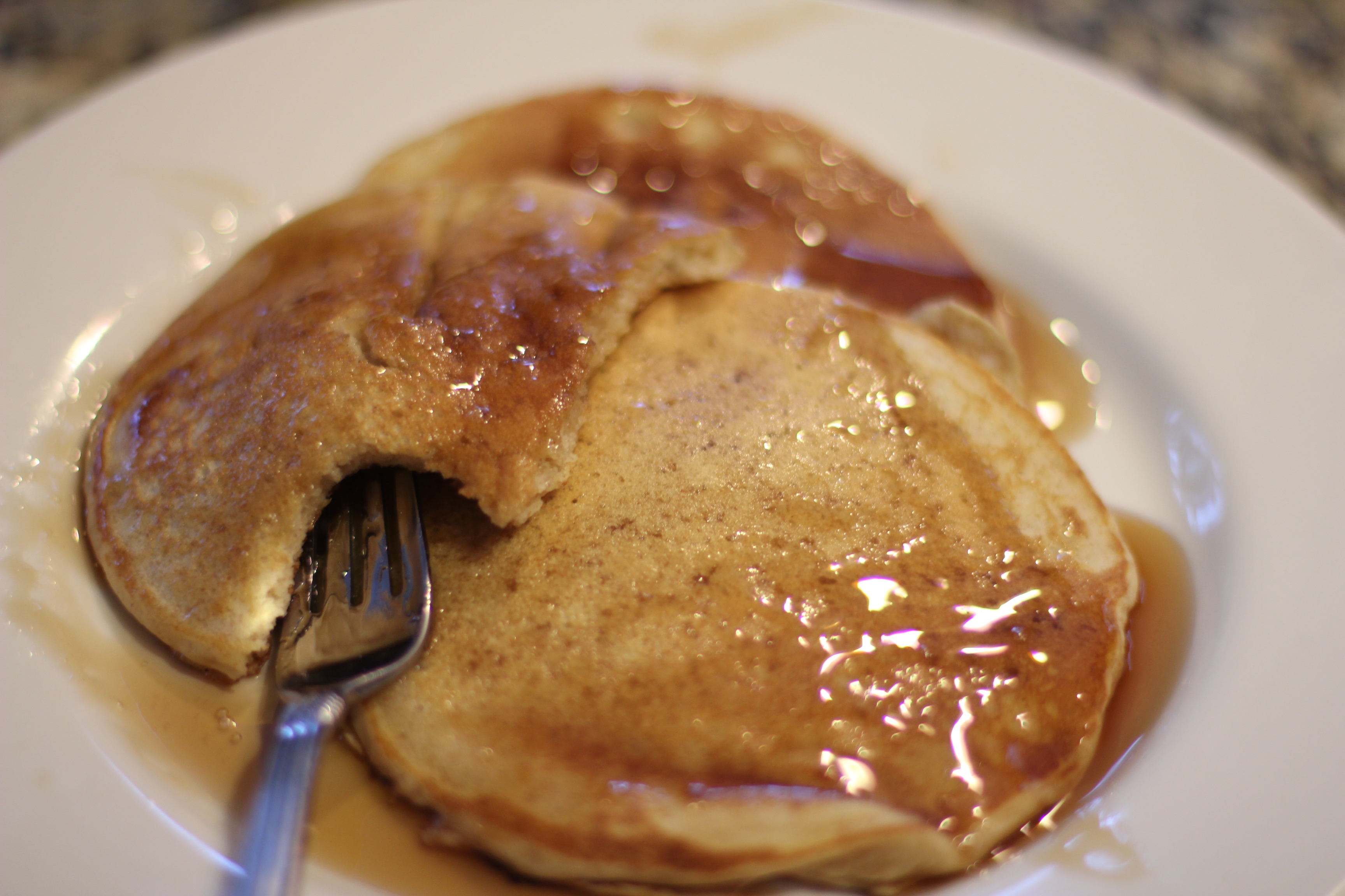 Recipe: Whole Wheat Buttermilk Pancakes