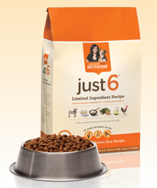 Free Sample: Rachael Ray Nutrish Just 6 Dog Food