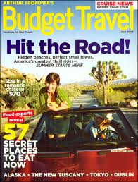 Budget Travel Magazine 1 Year/10 Issues $3.99