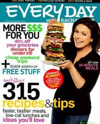 1 Year Subscription to Everyday with Rachel Ray Only $4.50!