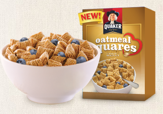 Free Quaker Oatmeal Squares Sample