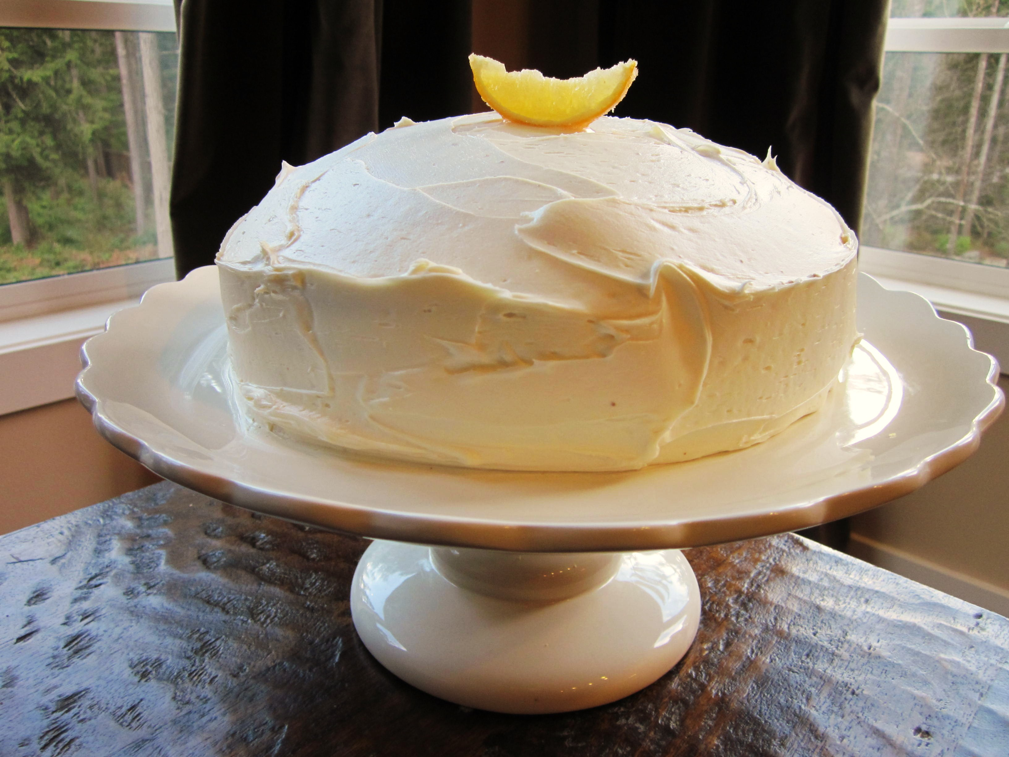 Recipe: Meyer Lemon Cake