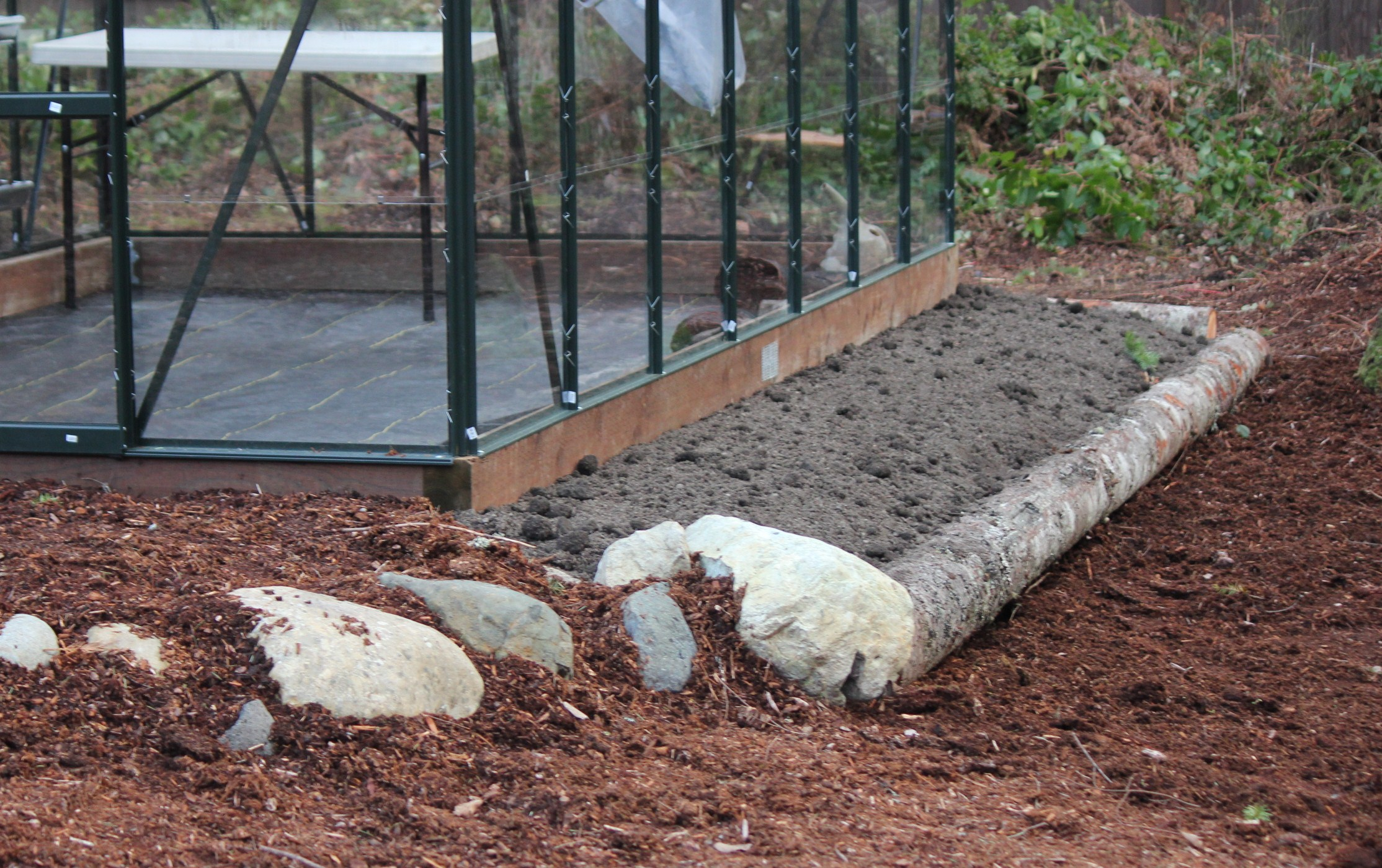 New Garden Beds For The Greenhouse