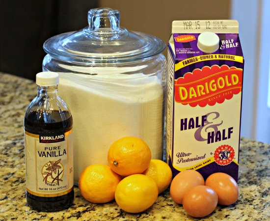 lemon ice cream recipes