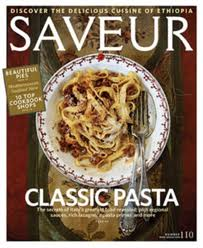 1 Year Subscription to Saveur Magazine only $4.99!