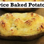 recipe how to make twice baked potatoes