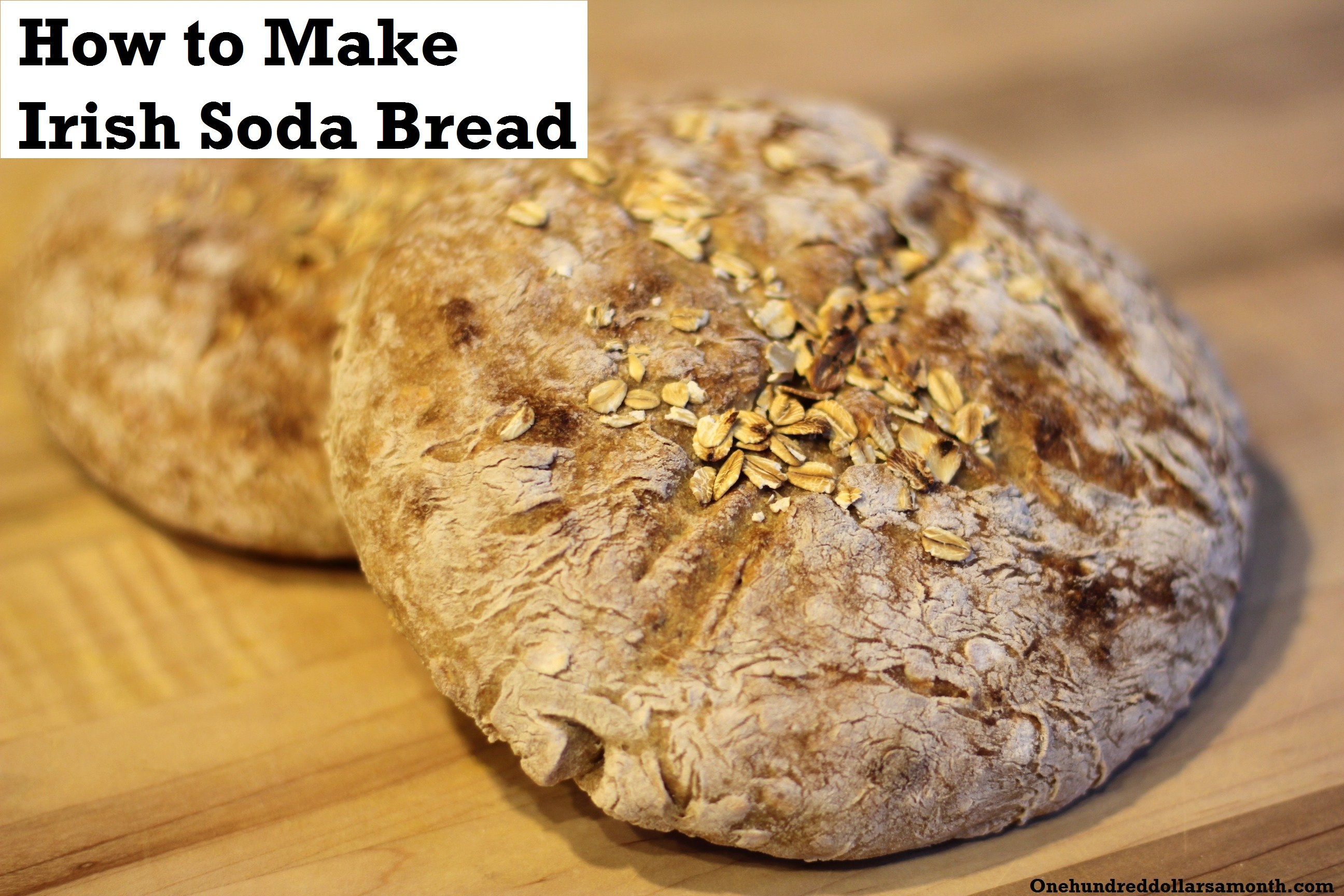 St. Patrick's Day Recipe: How To Make Irish Soda Bread