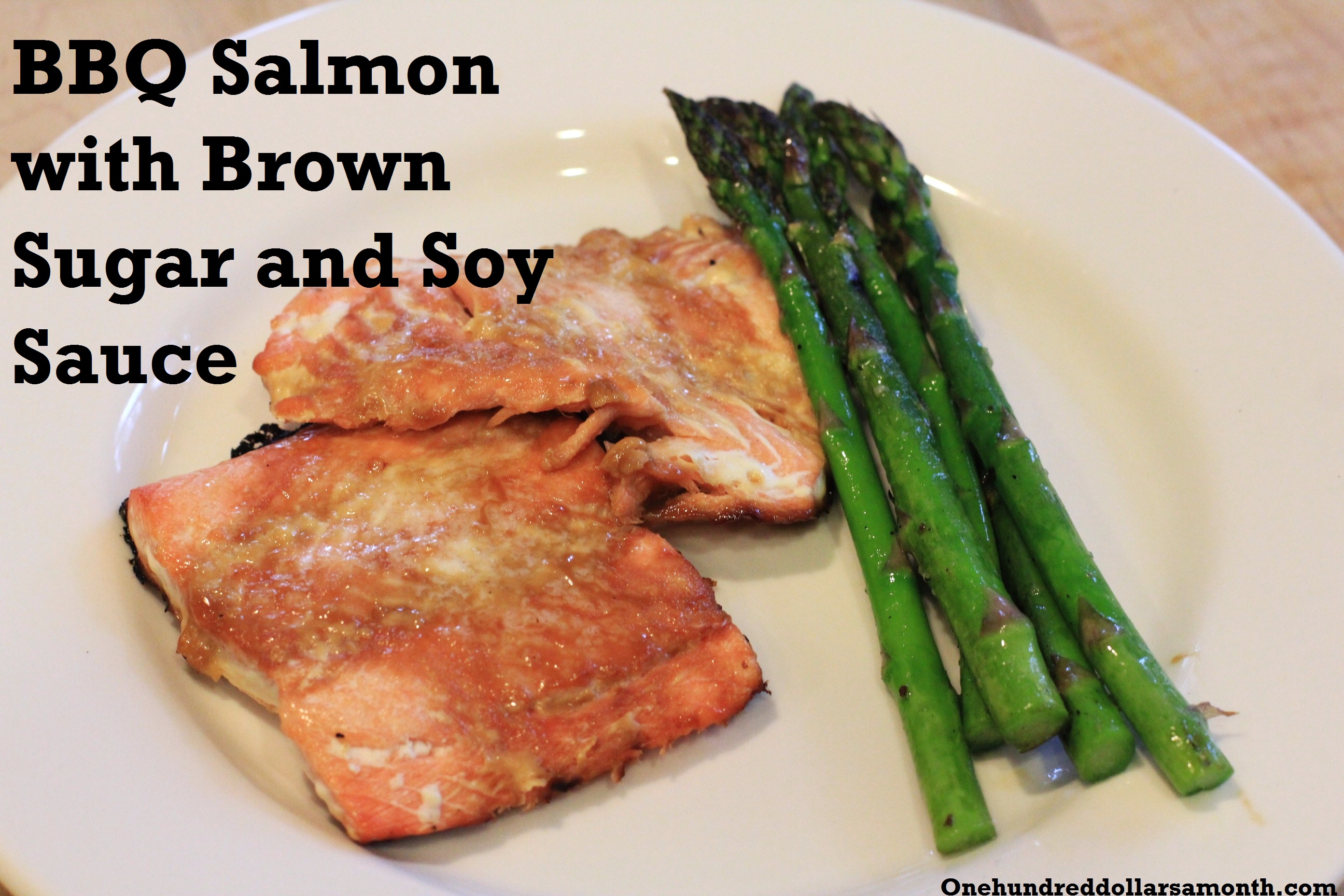 Recipe: BBQ Salmon with Brown Sugar and Soy Sauce