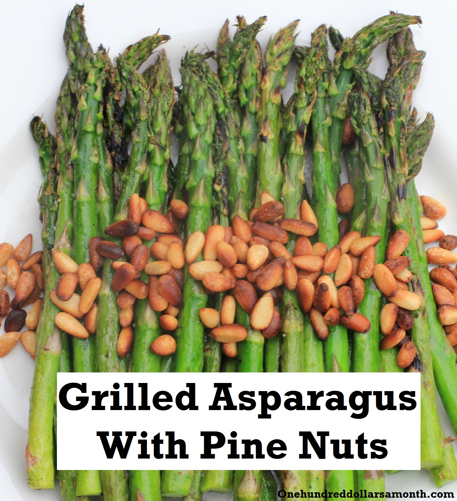 Recipe: Grilled Asparagus With Pine Nuts