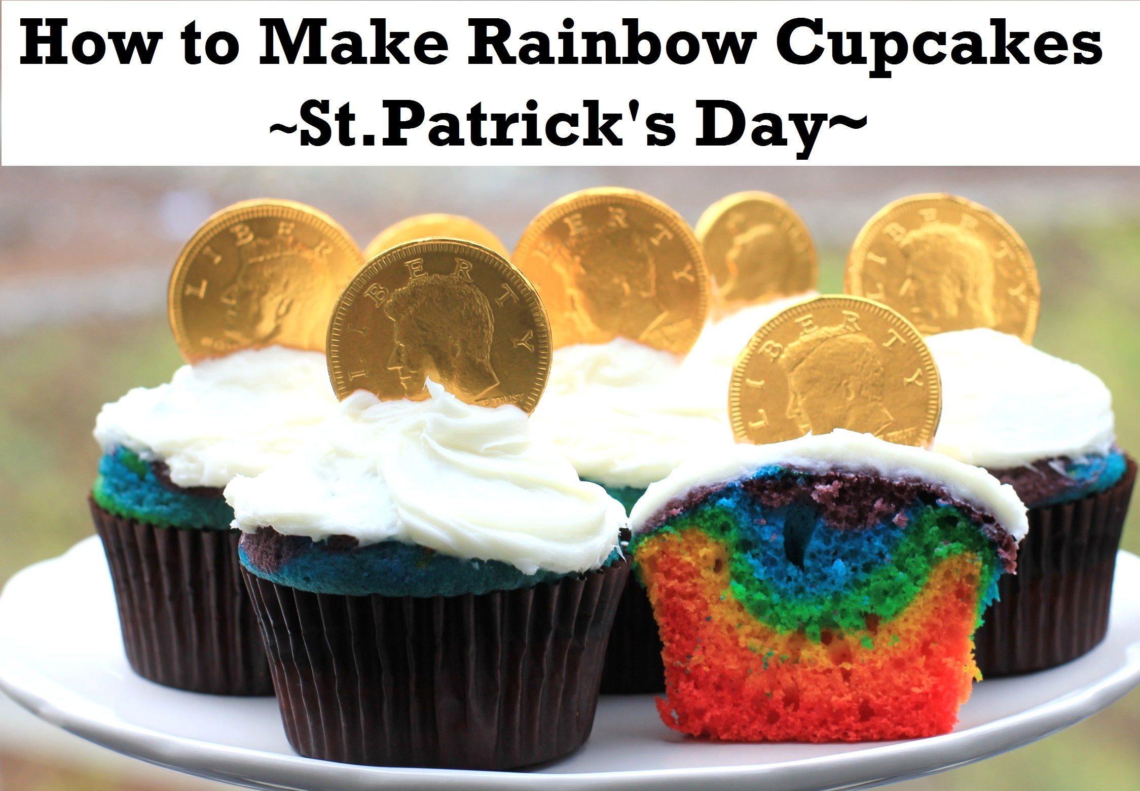 St. Patrick's Day Recipe: How to Make Rainbow Cupcakes
