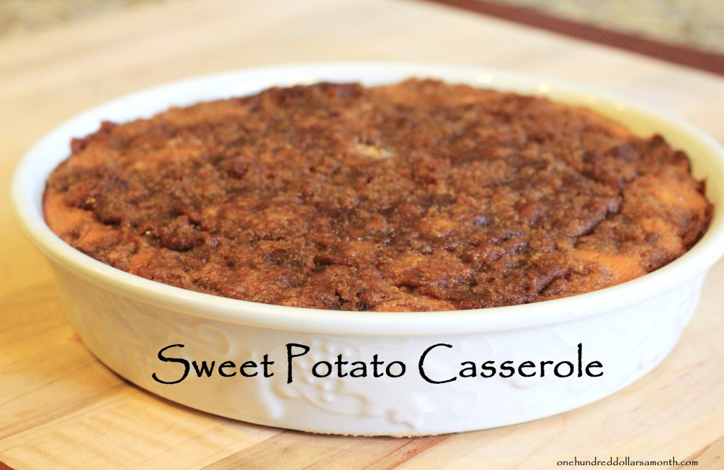 Thanksgiving Recipes - Sweet Potato Casserole - One ...