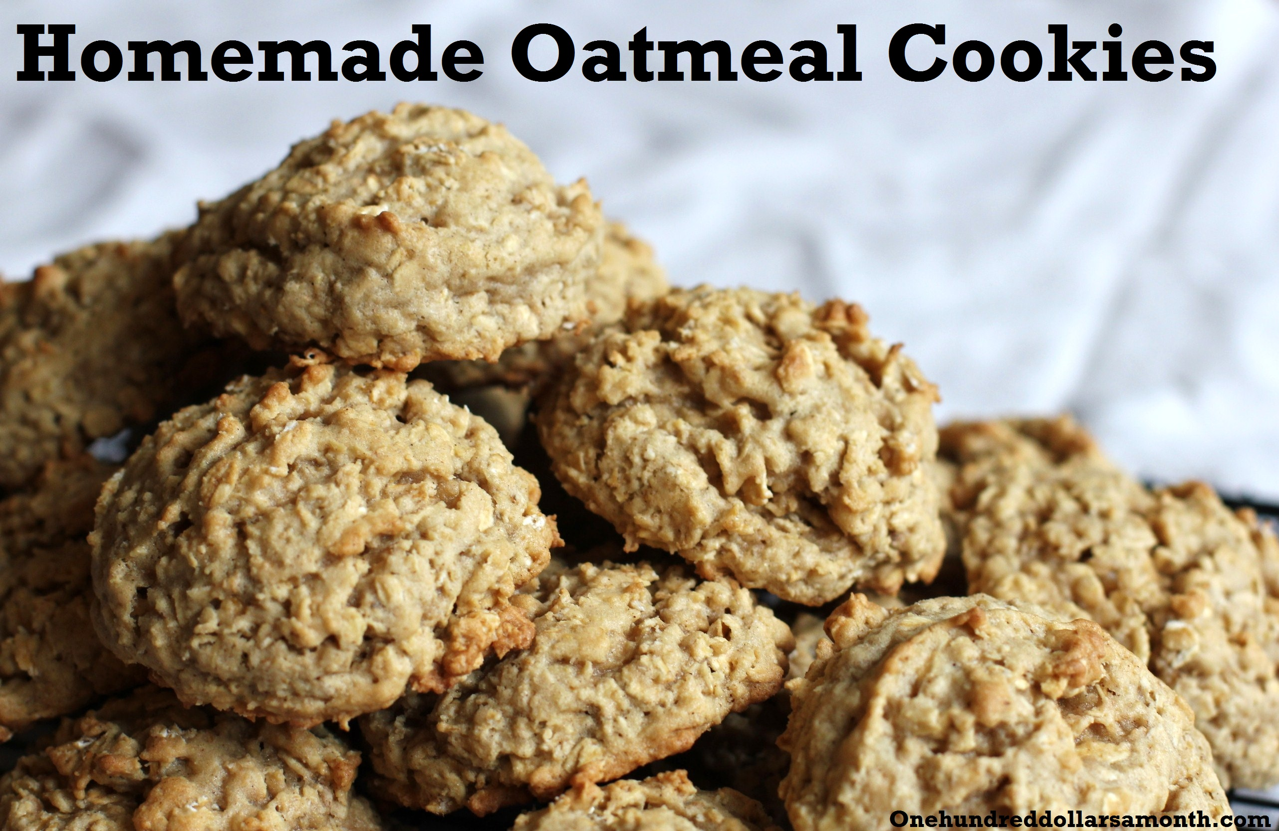 Recipe: The Best Oatmeal Cookies Ever!