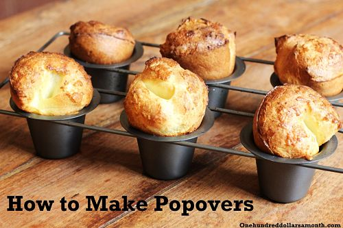 Recipe: How to Make Popovers