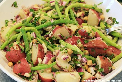 Recipe: Green Bean and Potato Salad