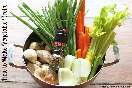 Recipe: How to Make Vegetable Stock