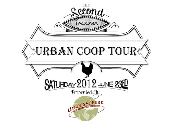 Tacoma Urban Chicken Coop Tour 2012
