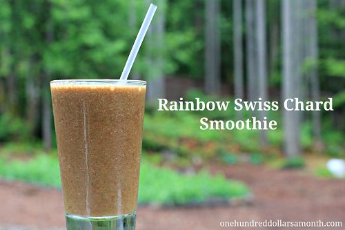Recipe – Rainbow Swiss Chard Smoothie