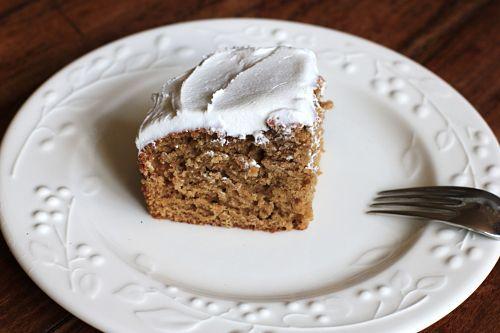 Recipe: Applesauce Spice Cake