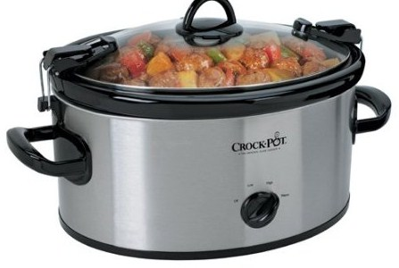 6 Quart crock pot