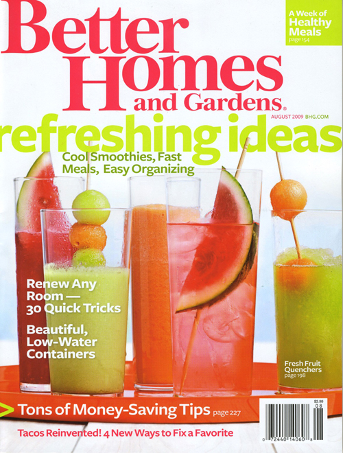 1 Year Subscription to Better Homes & Gardens Magazine Ony $4.44