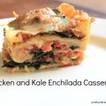 Recipe: Chicken and Kale Enchilada Casserole