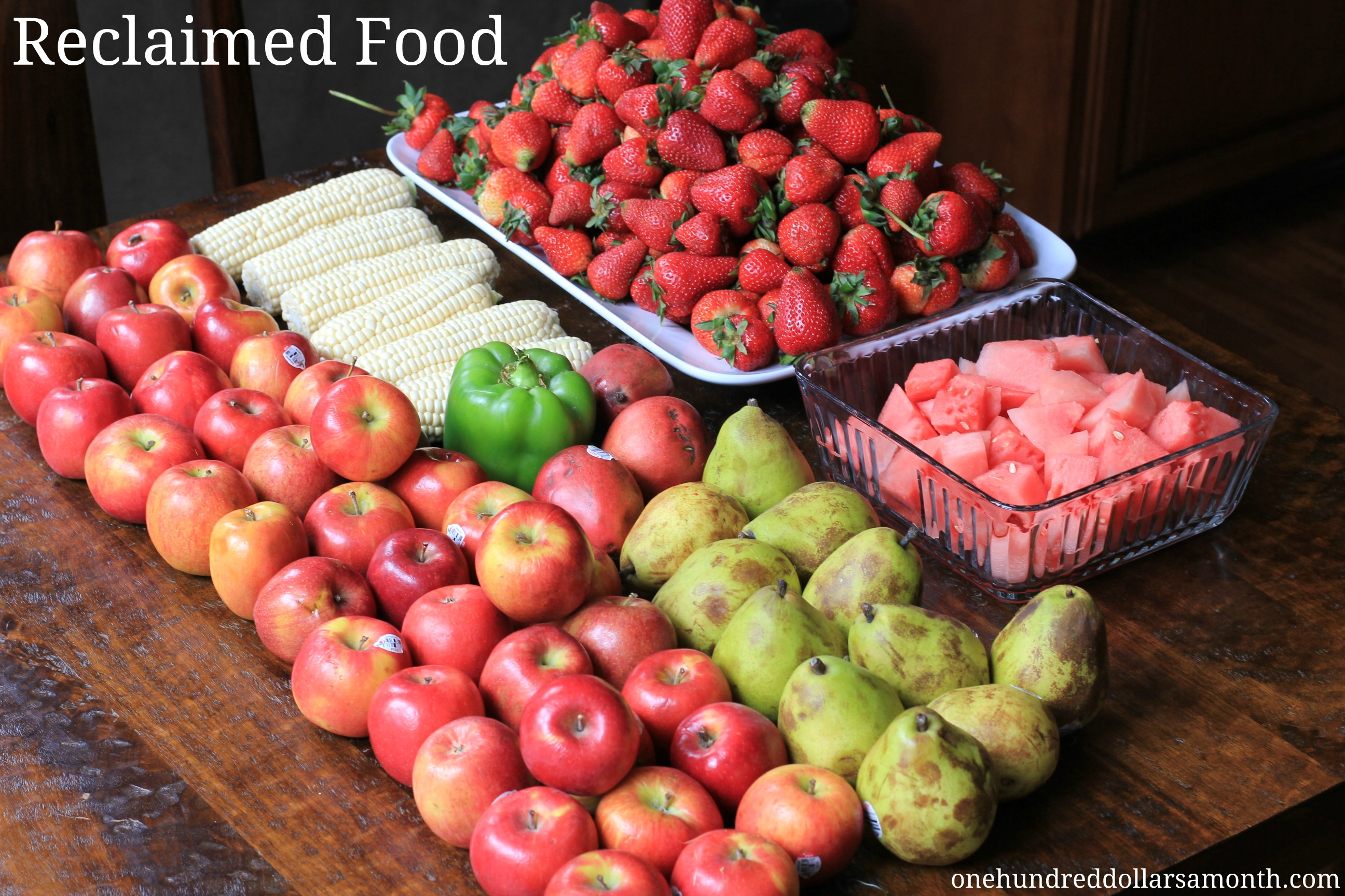 Free Food Week # 6 Reclaimed Food: Show and Tell