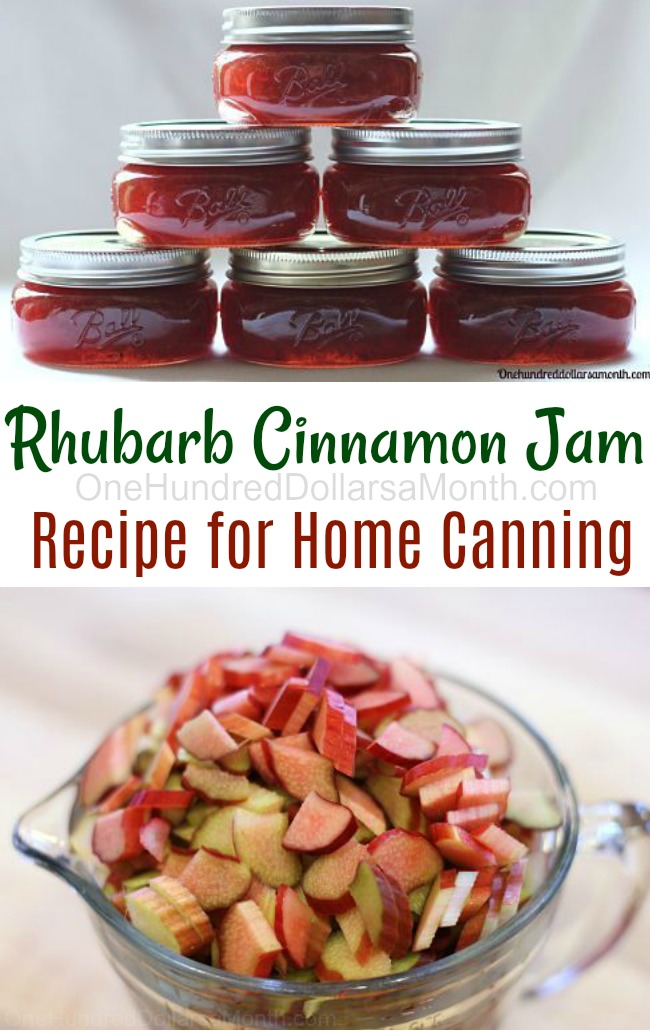 Recipe: How To Make Rhubarb Cinnamon Jam