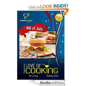 Amazon Free eBooks – Love of Cooking, Slow Carb Diet, Man Cave Recipes + Vegetarian Slow Cooker Recipes