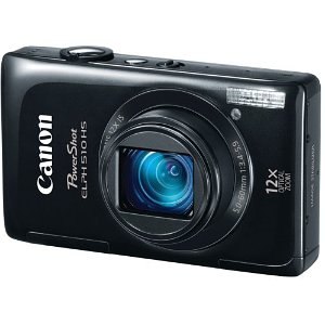 Amazon – Canon PowerShot 12.1 MP Camera $159 + 1 Day Shipping!