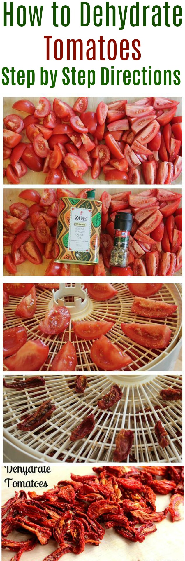 Frugal Living – How to Dehydrate Tomatoes
