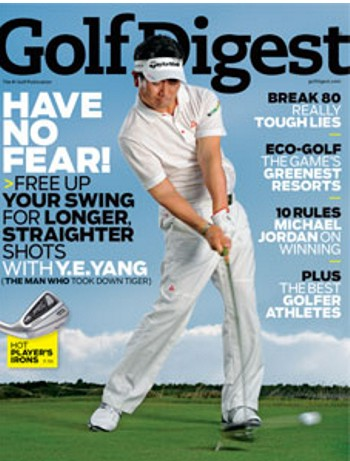 1 Year Subscription to Golf Digest Only $3.99!