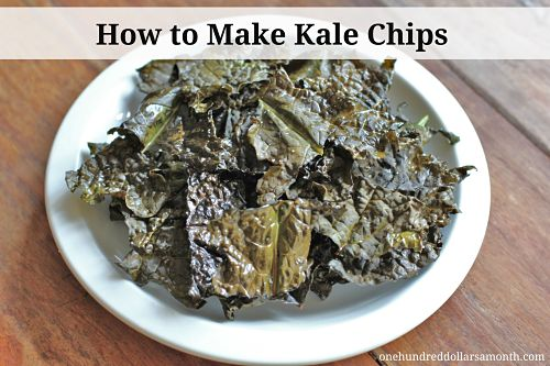 recipe how to make kale chips