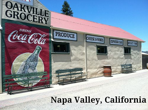 Napa Valley, California – Oakville Grocery