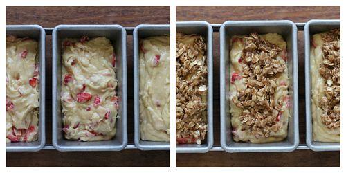 Recipe – Strawberry Streusel Bread