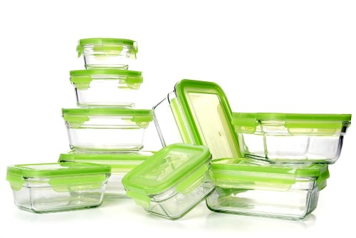 Amazon Deal of The Day – Snapwear Glass Food Storage 18-Piece Food Storage Set