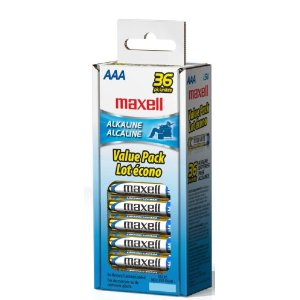 Amazon – 36 Pack of Maxell Batteries Only $9.46 Shipped!