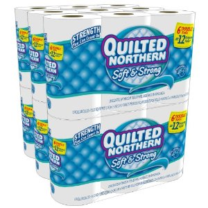 Amazon – Quilted Northern Soft & Strong, Double Rolls, 36 Count $17.99 Shipped!