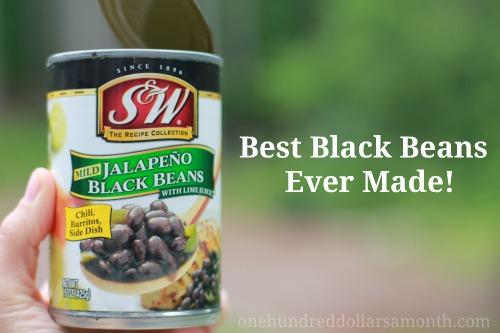 S&W Black Beans