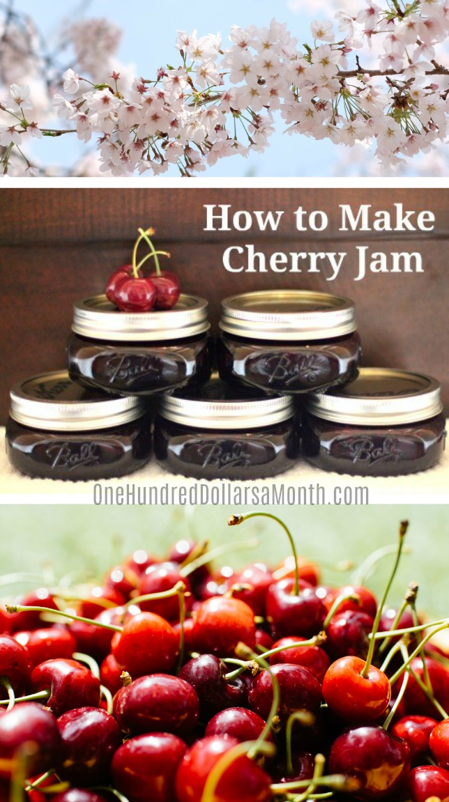 Canning 101 – How to Make Cherry Jam