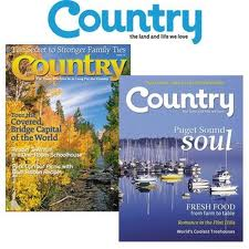1 Year Subscription to Country Magazine Only $3.99!