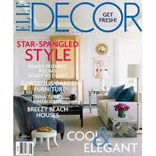 1 Year Subscription to Elle Decor Only $4.50!